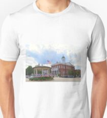 Exeter, New Hampshire, Town Hall Unisex T-Shirt