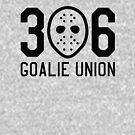 306 Goalie Union (Black) by madeinsask