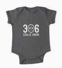 306 Goalie Union (White) One Piece - Short Sleeve