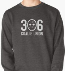 306 Goalie Union (White) Pullover