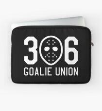 306 Goalie Union (White) Laptop Sleeve