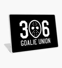 306 Goalie Union (White) Laptop Skin