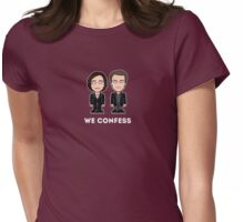 Dorian and Toby Womens Fitted T-Shirt