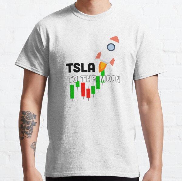 Tesla $TSLA To The Moon Classic T-Shirt