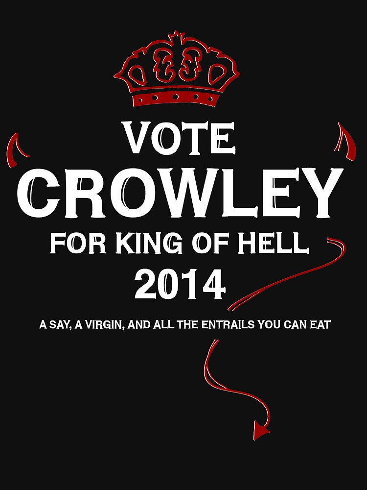 Vote Crowley (white) | Unisex T-Shirt