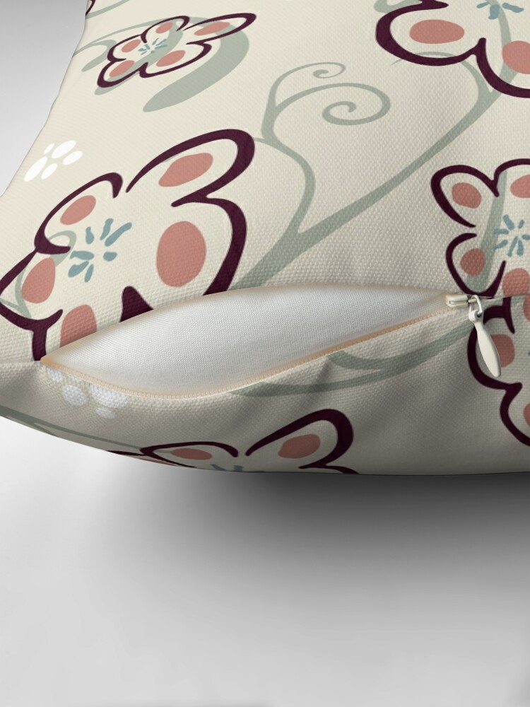 Alternate view of Plum Butter Cookies Floor Pillow
