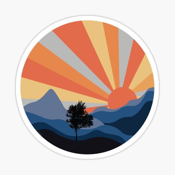 Sunset in Shenandoah  Sticker