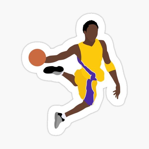 Kobe Bryant - Basketball des Lakers Vintage Sticker