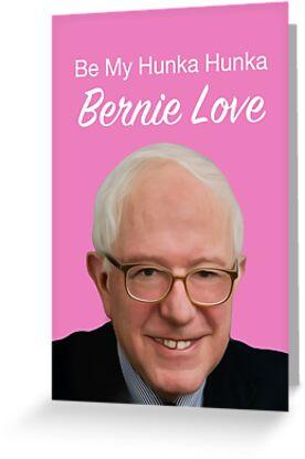 Be My Hunka Hunka Bernie Love by asoftblackstar