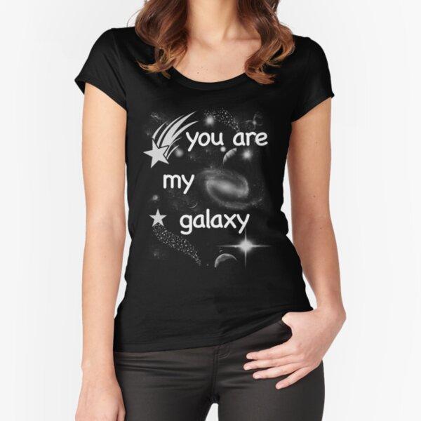 You are my galaxy T-shirt échancré