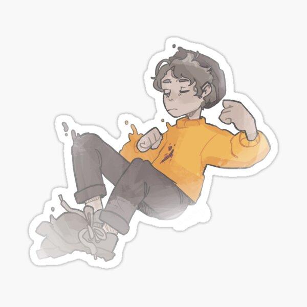 Ghostbur Floating :) Sticker
