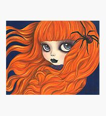 Spider Girl Photographic Print