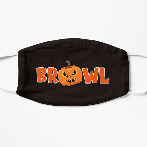 Brawl Brawler Halloween Pumpkin Gambling Gamer Bal Flat Mask