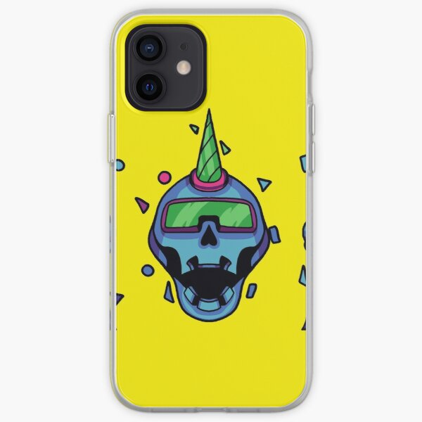 Holo Skull - CyberThugs iPhone Soft Case