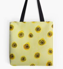 Stone Roses inspired lemon pattern Tote Bag