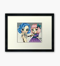 Rose and Serenity Framed Print