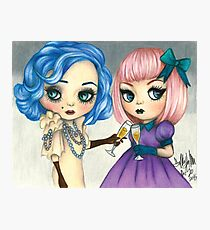 Rose and Serenity Photographic Print