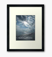 Earth Music Framed Print