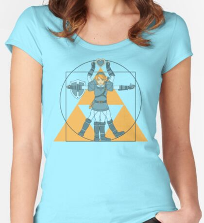 Hylian Man Women's Fitted Scoop T-Shirt