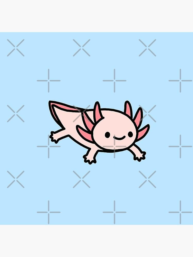 Axolotl by littlemandyart