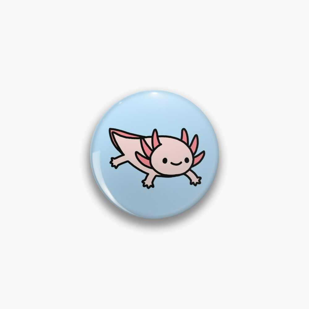 Axolotl Pin