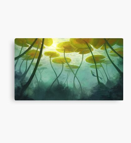 Sea Lilly Canvas Print