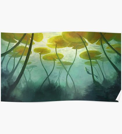 Sea Lilly Poster