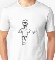 zombie funny creepy comic Unisex T-Shirt