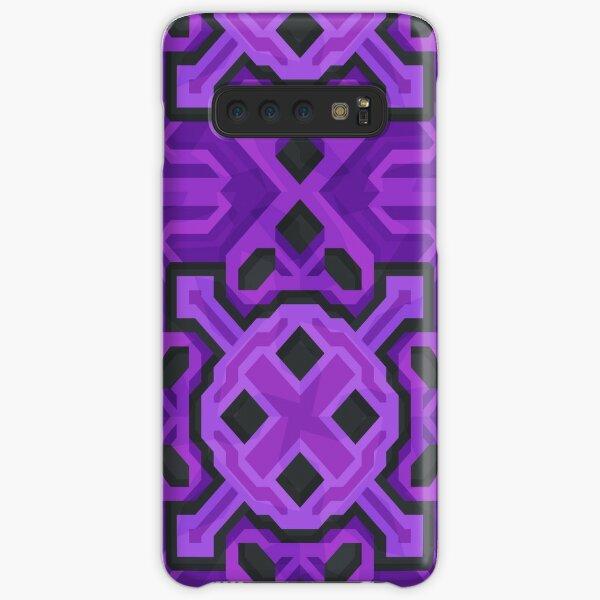 Purple Glazed Terracotta - PureBDcraft Samsung Galaxy Snap Case