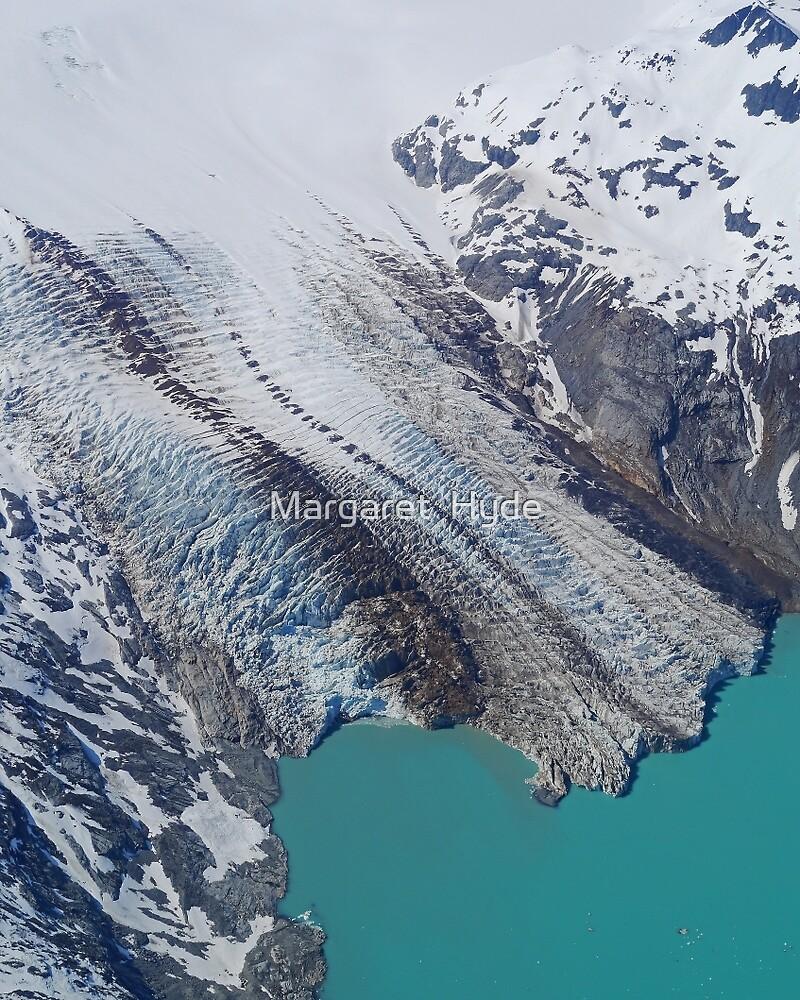 Glacier, Kodiak Island, Alaska, USA by Margaret  Hyde