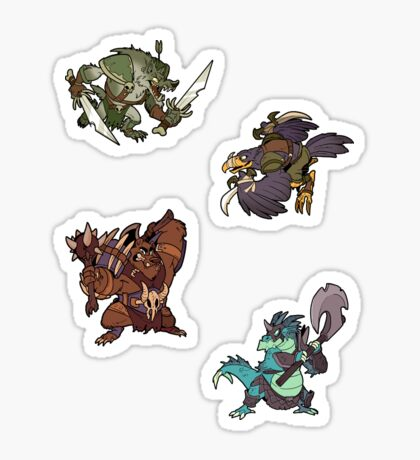 Beast Brigands - Mini Sticker