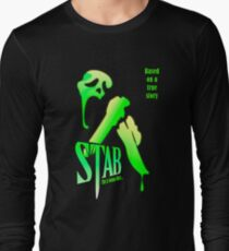 Stab (from the Scream movie) Long Sleeve T-Shirt