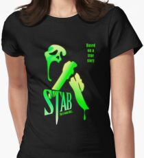 Stab (from the Scream movie) Women's Fitted T-Shirt