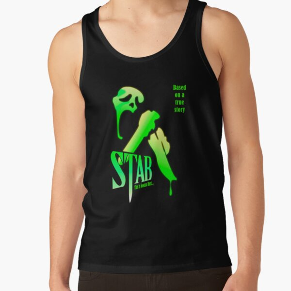 Stab (from the Scream movie) Tank Top