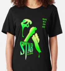 Stab (from the Scream movie) Slim Fit T-Shirt