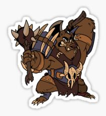 Beast Brigands - Bear Sticker Sticker