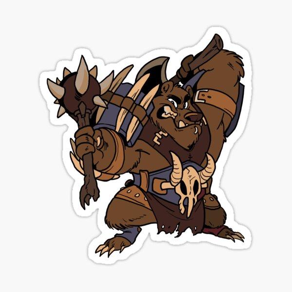 Beast Brigands - Bear Sticker