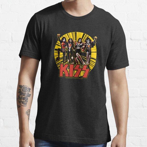 KISS Band Members - Demon, Spaceman, Starchild, Catman Essential T-Shirt
