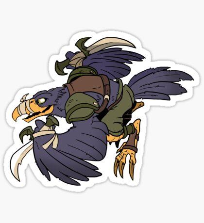 Beast Brigands - Crow Sticker Sticker
