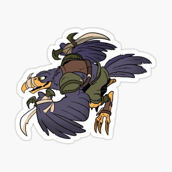 Beast Brigands - Crow Sticker