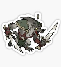 Beast Brigands - Wolf Sticker Sticker