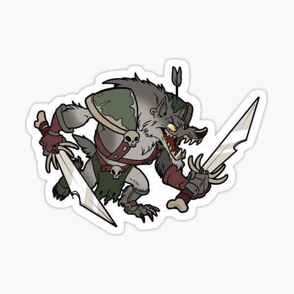 Beast Brigands - Wolf Sticker