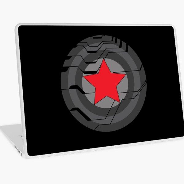 Winter Soldier Shield Laptop Skin