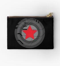 Winter Soldier Shield Zipper Pouch