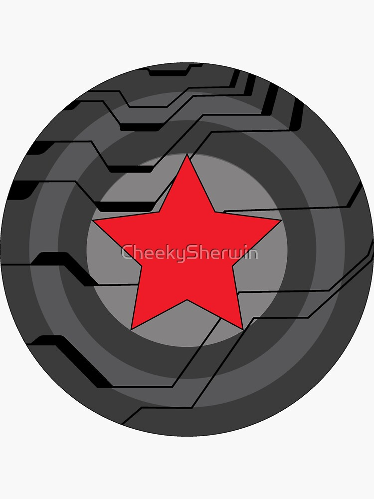 Winter Soldier Shield by CheekySherwin