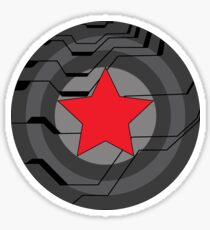 Winter Soldier Shield Sticker
