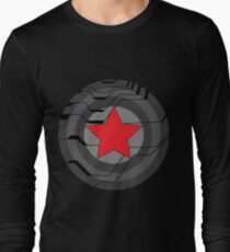 Winter Soldier Shield Long Sleeve T-Shirt