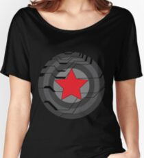 Winter Soldier Shield Women's Relaxed Fit T-Shirt