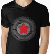 Winter Soldier Shield Men's V-Neck T-Shirt