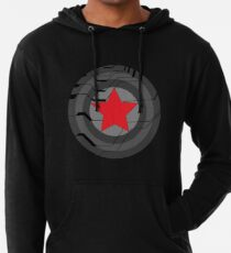 Winter Soldier Shield Lightweight Hoodie